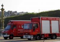Пожарные автомобили на базе Renault Master #PS 96 и IVECO EuroCargo #PEV 1. Франция, Париж, Площядь Конкорд