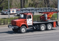 Пожарная автолестница АЛ-30(4334)ПМ-506Н на шасси ЗиЛ-433442 #A 358 DF. Алматы, улица Саина
