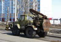 Полковая землеройная машина ПЗМ-2 на базе трактора Т-155 #1463 АН 22. Алтайский край, Барнаул, улица Малахова