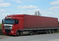 Седельный тягач DAF XF 95.380 #LLU 03325. Липецкая область, Елецкий район, село Екатериновка