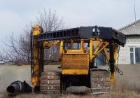 Сваебойная установка СП-49Д на базе трактора Т-170Б. Белгородкая область, г. Алексеевка