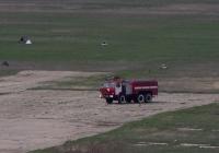 Аэродромный пожарный автомобиль АА-40(43101)-189. Крым, Симферополь, аэропорт Заводское