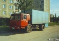Фургон на шасси КАЗ-4540-01 #А 863 ЕА 69 . Россия, Тверская область, Удомля, Луговая улица