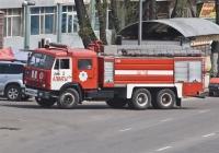 Пожарная автоцистерна  АЦ-7-40(53215) на шасси КамАЗ-53215 #A 356 DF. Алматы, проспект Рыскулова