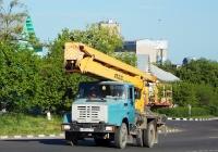 Автоподъёмник АГП-22.02 на шасси ЗиЛ-433362 # К 955 СК 31. Белгородская область, г. Алексеевка, улица Тимирязева