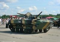 Боевая машина десанта БМД-1П #796. Иваново, аэродром Северный