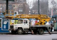 Автоподъёмник АП-18-09 на шасси ГАЗ-3309 #АА 7380 НТ. Киев, проспект 40-летия Октября