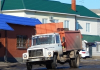 Мусоровоз КО-440-2 на шасси ГАЗ-3309 # К 735 НУ 31. Белгородская область, г. Бирюч, улица Маркина