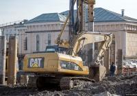 Экскаватор Caterpillar 320D #56280 АА. Киев, Почтовая площадь