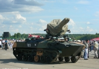 БТР-ЗД #783 с зенитной установкой ЗУ-23-2. Иваново, аэродром Северный
