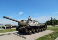 Самоходная артиллерийская установка ИСУ-152. Белгородская область, п. Прохоровка