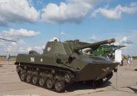 """Самоходная артиллерийская установка 2С9 """"Нона-С"""" №196. Иваново, аэродром Северный"""