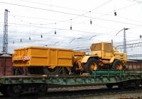 Трактор Т-150К с прицепным катком ДУ-37В. Алтайский край, Новоалтайск