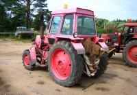Трактор ЛТЗ-60АВ с навесной водоотливной установкой. Россия, Тверская область, Удомля, Вышневолоцкое шоссе
