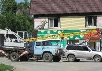 Автокран КС-2568 на шасси ЗИЛ-431410 #У 549 КЕ 22. Алтайский край, Змеиногорск, улица Пугачёва