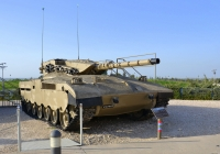 "Танк ""Меркава"" Mk.1. Израиль, Латрун, музей бронетехники"