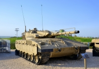 "Танк ""Меркава"" Mk.2. Израиль, Латрун, музей бронетехники"
