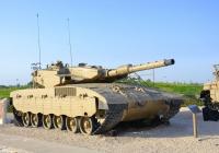 "Танк ""Меркава"" Mk.3. Израиль, Латрун, музей бронетехники"