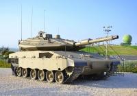 "Танк ""Меркава"" Mk.4. Израиль, Латрун, музей бронетехники"