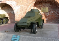 Бронеавтомобиль БА-64Б #129. Нижний Новгород, Кремль