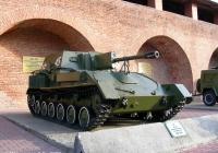 Самоходная артиллерийская установка СУ-76М #45. Нижний Новгород, Кремль