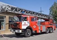 Пожарная автолестница Magirus DLK 50 на шасси IVECO 260-32 AH 6x4 #A 735 KS. Алматы, проспект Абая
