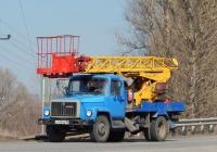 Автоподъёмник АП-17А-04 на шасси ГАЗ-3307 #К 446 МВ 36. Белгородская область, г. Валуйки, улица Энергетиков