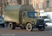 Изотермический фургон АФИ-3307 на шасси ГАЗ-3307 #0587 ВК 67. Иваново, улица Кузнецова
