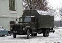 Изотермический фургон АФИ-3307 на шасси ГАЗ-3307 #1774 АМ 77. Москва, Люсиновская улица