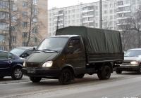 """Бортовой грузовик ГАЗ-3302 """"Газель"""" #1301 АМ 77. Москва, улица Лестева"""
