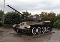 Средний танк Т-34-85 №700. Чебоксары, парк Победы