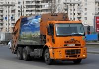 Мусоровоз McNeilus на шасси Ford Cargo 2532DC #В 673 УС 98. Санкт-Петербург, Краснопутиловская улица