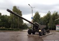 """152-мм пушка 2А36 """"Гиацинт-Б"""". Чебоксары, парк Победы"""