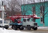 Автоподъёмник АП-17А-04 на шасси ГАЗ-3307 #М 772 РО 31. Белгородская область, г. Алексеевка, улица Карла Маркса