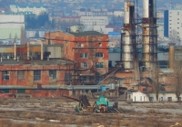 """Буртоукладчик """"Комплекс-65М2Б3-К"""". Белгородская область, г. Алексеевка, территория сахарного завода"""