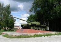 Танк Т-72 на постаменте. Ивановская область, Южа, улица Лермонтова