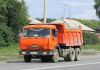 Самосвал КамАЗ-45147 #А 107 ОС 154. Новосибирск, улица Одоевского