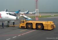 Аэродромный тягач БелАЗ-74211 №48. Санкт-Петербург, аэропорт Пулково-1