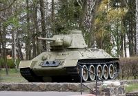 Средний танк Т-34-76. Киевская область, Вышгородский район, Новые Петровцы, улица Ватутина