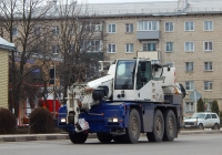Компактный кран Terex-Demag AC 40 City #2374 ЕР 31. Белгородская область, г. Алексеевка, Мостовая улица