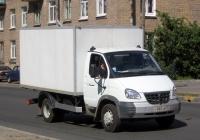 "Фургон на шасси ГАЗ-3310 ""Валдай"" #Н 885 НВ 98. Санкт-Петербург, Варшавская улица"