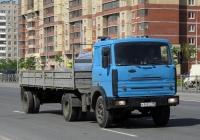Седельный тягач МАЗ-5432* #К 342 СС 98 с полуприцепом. Санкт-Петербург, Дунайский проспект