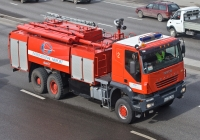 Аэродромный пожарный автомобиль АА-12/60(IVECO Trakker) на шасси IVECO-AMT Trakker 380 #A 732 FB. Алматы, проспект Рыскулова