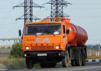 Ассенизационная машина КО-505А на шасси КамАЗ-53213 #Н 815 НМ 31. Белгородская область, г. Алексеевка, Магистральная улица