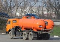 Ассенизационная машина КО-505А на шасси КамАЗ-53213 #Н 815 НМ 31. Белгородская область, г. Алексеевка, улица Тимирязева