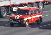 Автомобиль оперативной службы на базе ВАЗ-2131 #806 KP 02. Алматы, проспект Рыскулова