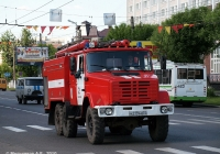 Пожарная автоцистерна АЦ-3,0-40(4334)-3ВР на шасси ЗиЛ-4334 #Н 219 АН 37. Иваново, проспект Ленина