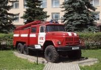 Пожарная автоцистерна АЦ-40(131)-137А на шасси ЗиЛ-131Н. Иваново, проспект Строителей