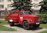Пожарная автоцистерна АЦУ-20(51)-60А на шасси ГАЗ-51А. Иваново, проспект Строителей