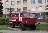 Пожарная автоцистерна АЦ-30(66)-146 на шасси ГАЗ-66-11. Иваново, проспект Строителей